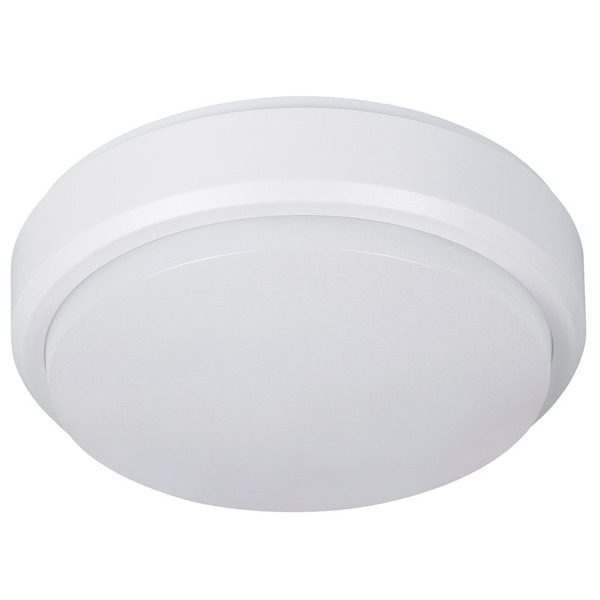 Müller Licht 9-W-LED-Decken-/Wandleuchte mit HF-Bewegungssensor, rund, neutralweiß