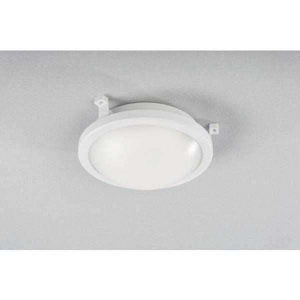 ELV 12-W-LED-Deckenleuchte, rund, IP54