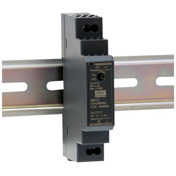 Mean Well Hutschienennetzteil 160 HDR-15-12 12 V, 1,25 A, 15 W, für Smart Home und Haussteuerung