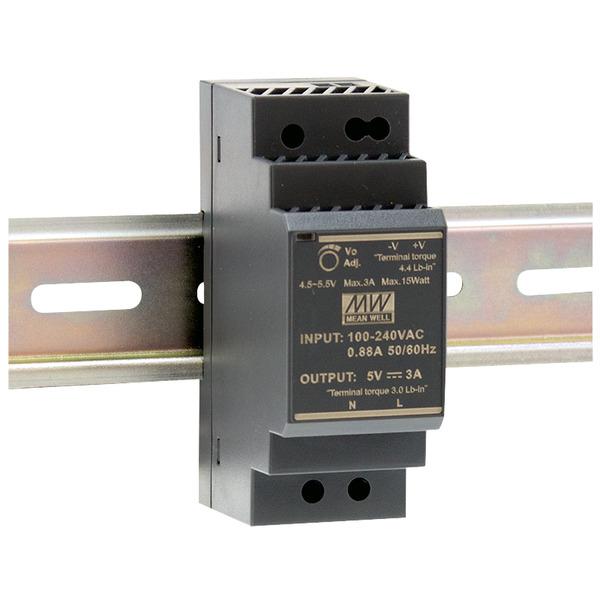 Mean Well Hutschienennetzteil 96 HDR-30-12 12 V, 2 A, 24 W, für Smart Home und Haussteuerung