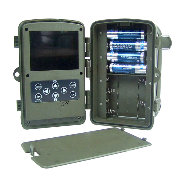 Berger & Schröter Full HD 16 MP Fotofalle/ Wildkamera Scouting Cam 31646 mit BLACK-LED's