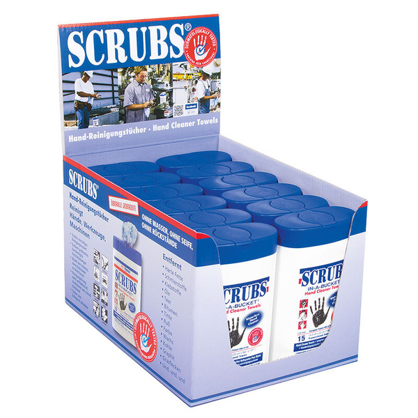 Scrubs Handreinigungstücher, 15er-Packung