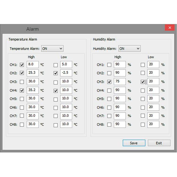 ELV Raumklimastation RS500, inkl. 5 Sensoren, Messwertespeicher und PC-Auswertesoftware