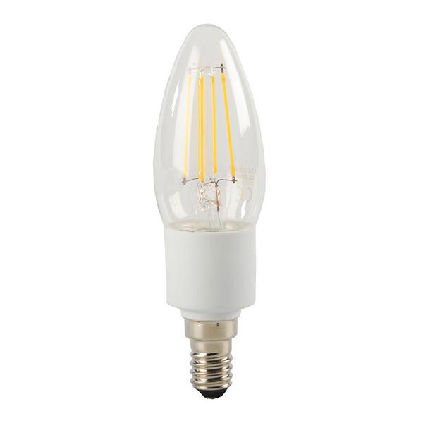 ELV FL BASIC DIM B40 4,5-W-Filament-LED-Kerzenlampe E14, warmweiß, dimmbar