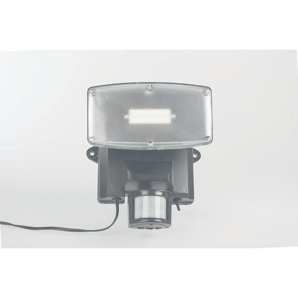 ELV SLED 1100 Solar-LED-Flutlichtstrahler mit 180°-PIR-Bewegungsmelder, 900 lm Lichtstrom