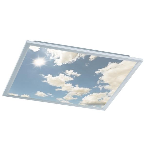 "Wofi 44-W-LED-Deckenleuchte ""Wolkenhimmel"" mit Funk-Fernbedienung"