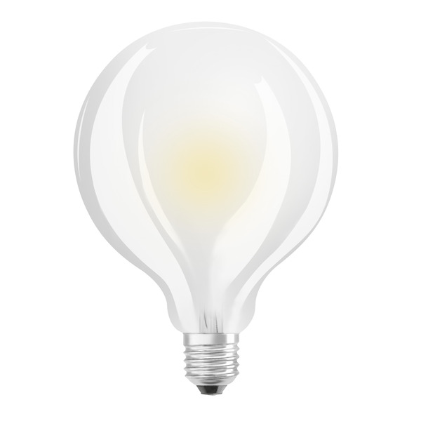 OSRAM LED STAR 11-W-Globe-Filament-LED-Lampe E27, matt