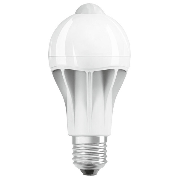 OSRAM LED STAR PLUS MOTION  11,5-W-Sensor-LED-Lampe E27 mit PIR-Bewegungsmelder, warmweiß