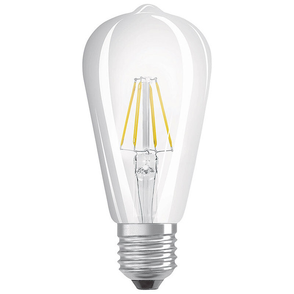 "OSRAM LED STAR PLUS GLOWdim 7-W-Filament-LED-Lampe E27 ""Edison"" mit GlowDim-Technologie, warmweiß"