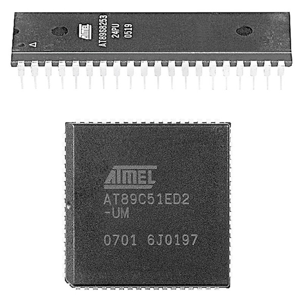 Atmel Mikrocontroller AT89C51RC2-SLSUM, PLCC44