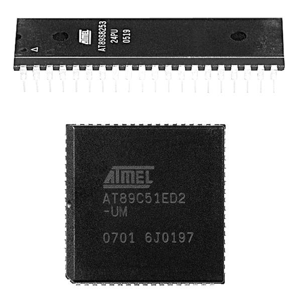 Atmel Mikrocontroller AT89S52-24PU, PDIP40