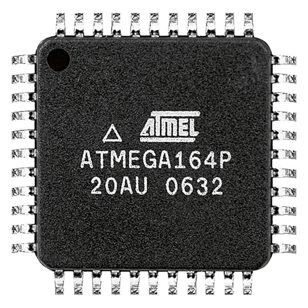 Atmel Mikrocontroller ATmega328P-MU, MLF44