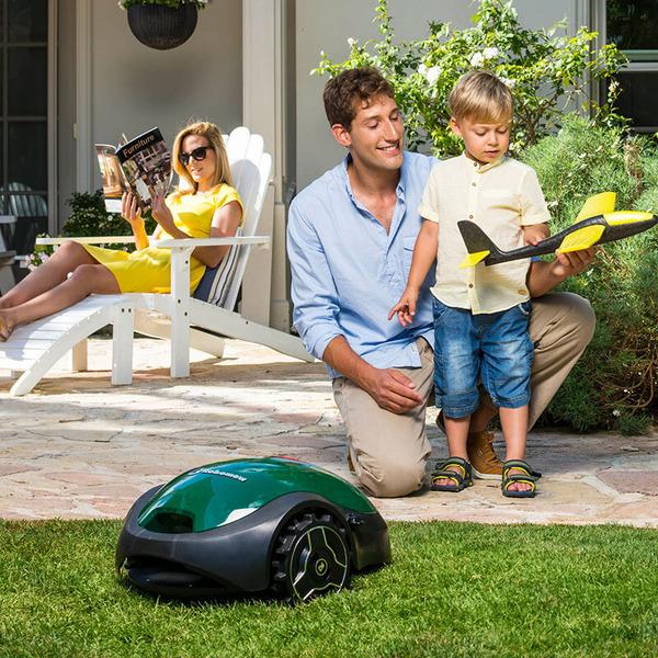 Robomow Mähroboter RX12u für kleine Rasenflächen, nicht programmierbar