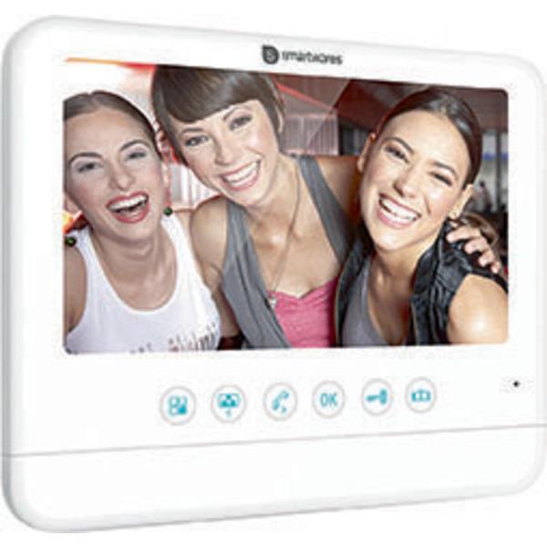 Smartwares Zusatz-Inneneinheit für 2-Draht-Video-Türsprechanlage mit 17,78-cm-Bildschirm