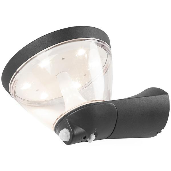 OSRAM Endura Style 4,5-W-LED-Wandleuchte, warmweiß, Netz- und Solarbetrieb möglich