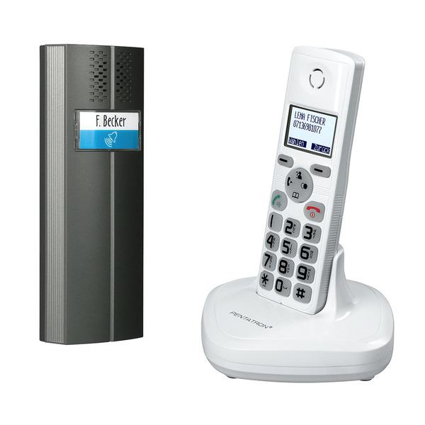 DECT-Audio-Türsprechanlage mit Telefonfunktion