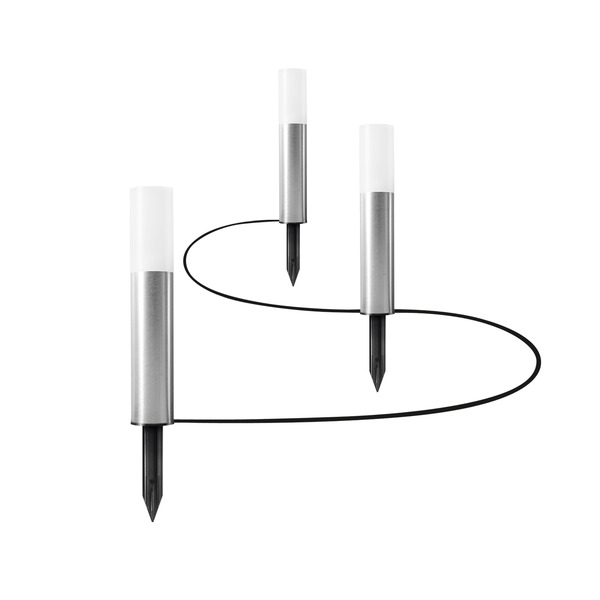OSRAM Smart+ Erweiterung mit 3 Mini-Garden-Poles für 10-m-Mini-RGB-LED-Lichterkette