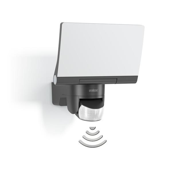 Steinel Sensor-LED-Flutlichtstrahler XLED Home 2, anthrazit, Z-Wave
