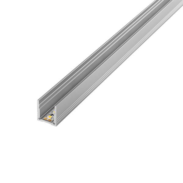 Barthelme 1-m-Aluminiumprofil hoch für LED-Streifen