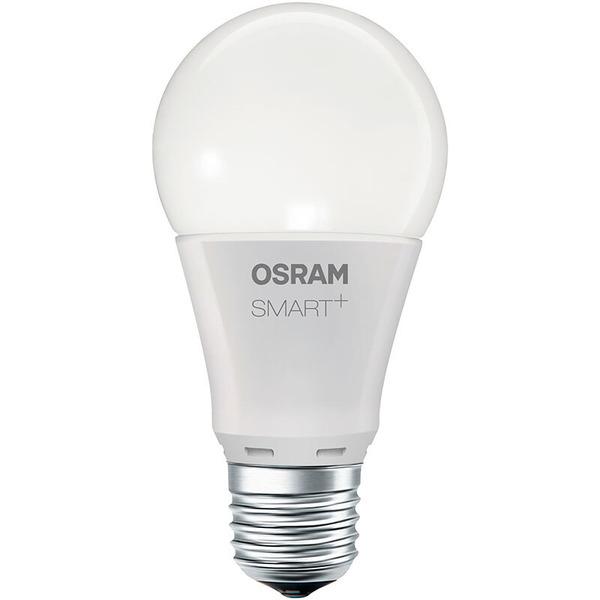OSRAM SMART+ 9-W-LED-Lampe E27, matt, dimmbar, kompatibel mit LIGHTIFY