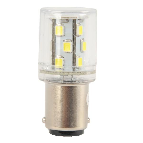 Barthelme LED 360° Rundumleuchte mit 15 LEDs, Ba15d, 12VAC/DC, 20x45mm, weiß, typ. 45lm