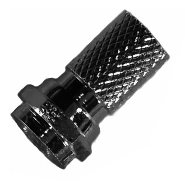 BKL Electronic F-Stecker Sortiment 4,0mm,  10-teilig