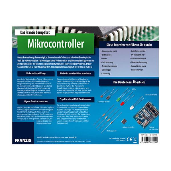 FRANZIS Lernpaket Mikrocontroller