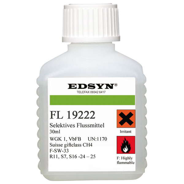 Edsyn Fluxi Flussmittel in Pinselflasche, 30 ml