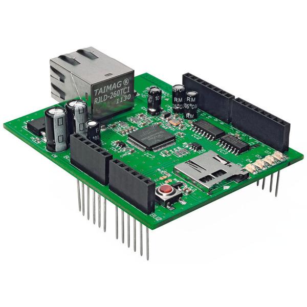 ELV Komplettbausatz Network Shield für Arduino NSA1