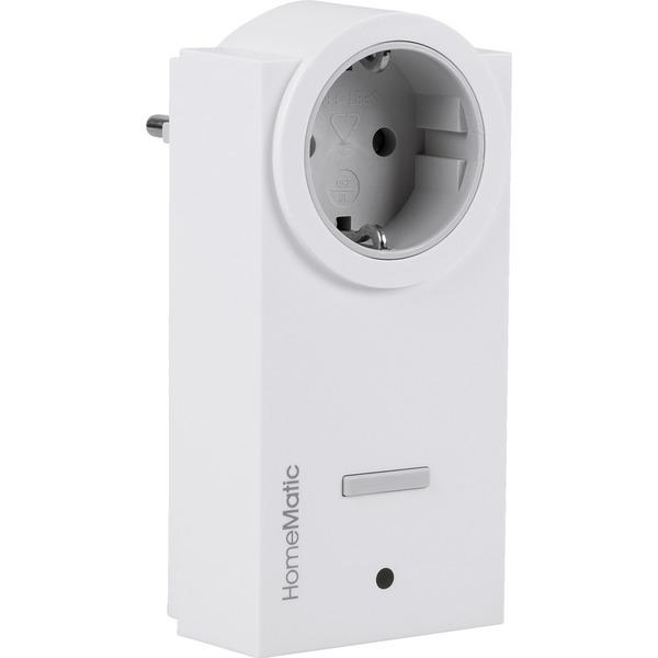 Homematic Funk-Schaltaktor 1fach mit Leistungsmessung, Zwischenstecker HM-ES-PMSw1-Pl