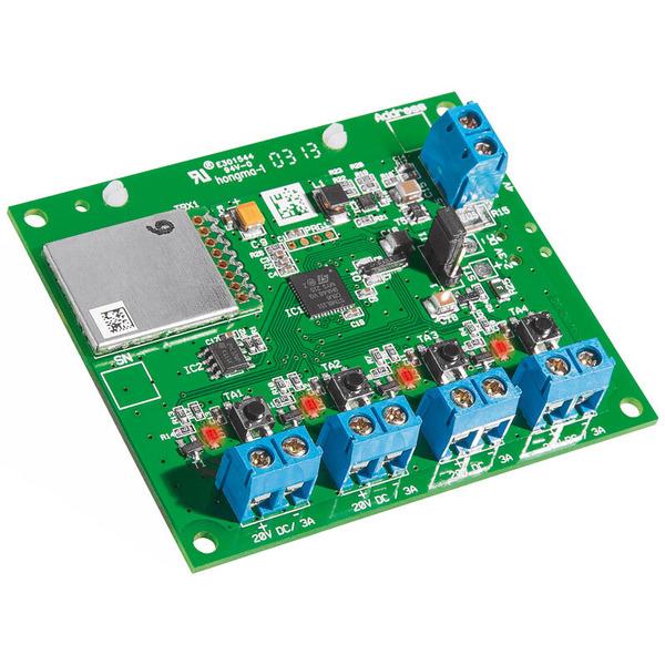 ELV Homematic Komplettbausatz 4-Kanal-Funk-Schaltaktor für Batteriebetrieb HM-LC-Sw4-Ba-PCB, für Sma