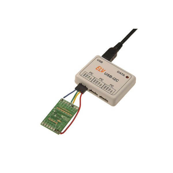 ELV Komplettbausatz 6-Achsen-Bewegungssensor-Modul 6D-BS mit SPI- und I²C-Schnittstelle