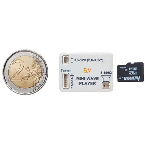 ELV Komplettbausatz Mini Wave Player MWP1