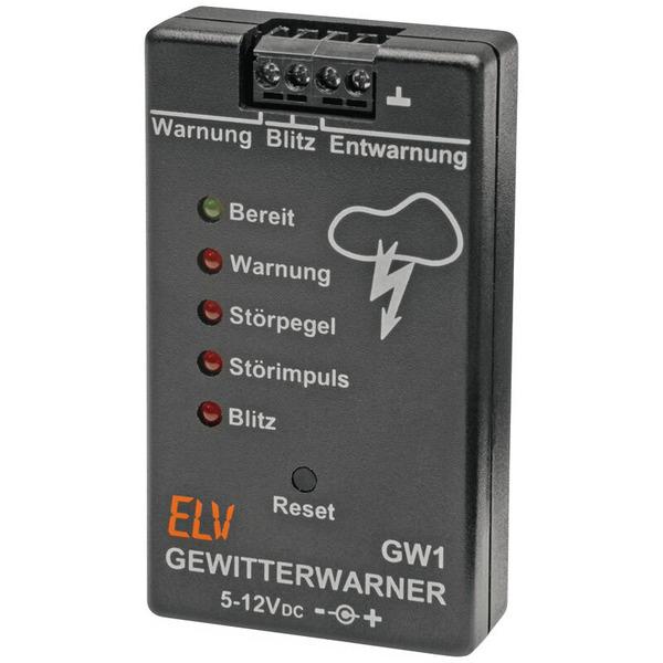 ELV Komplettbausatz Gewitterwarner GW1