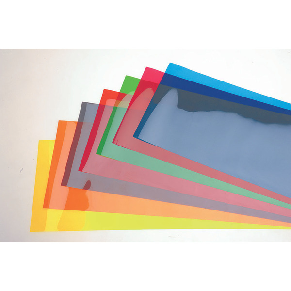 ELV Set Farbfilterfolien 100 mm x 50 mm, (8 Farben)