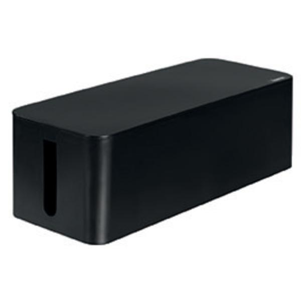 hama Maxi-Kabelbox, schwarz