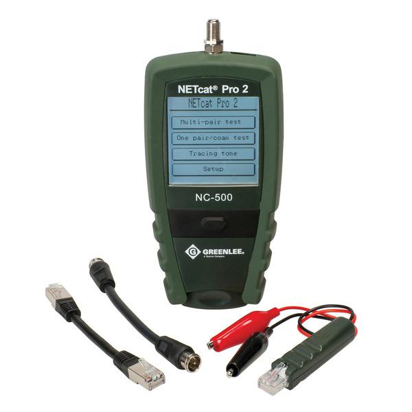 Greenlee Leitungsmessgerät / Verdrahtungstester NC-500 NETCAT PRO 2
