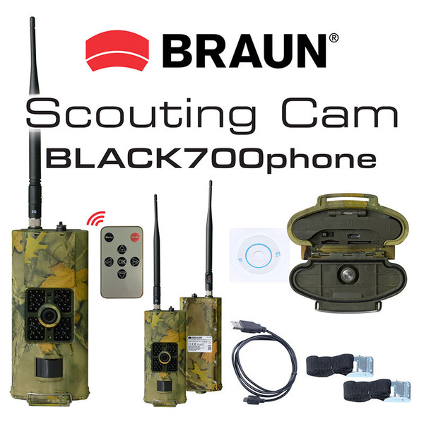 Braun Photo Technik Fotofalle/ Wildkamera Scouting Cam BLACK700phone