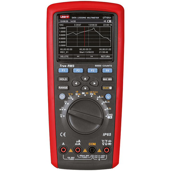 Uni-Trend TrueRMS Multimeter UT181A, inkl. PC-Software