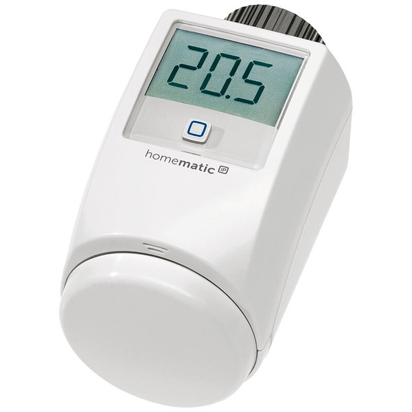 Homematic IP 5er Set Heizkörperthermostat HMIP-eTRV-2 für Smart Home / Hausautomation