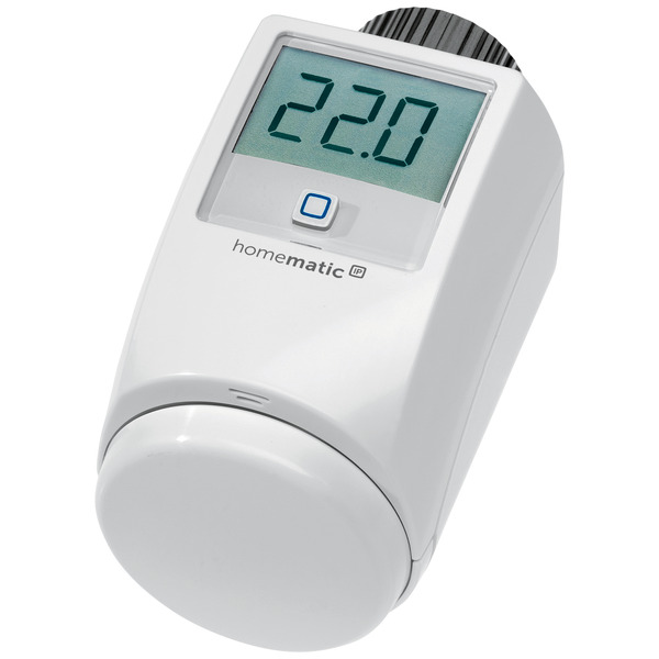 ELV Homematic IP Komplettbausatz Heizkörperthermostat HMIP-eTRV-2, für Smart Home / Hausautomation