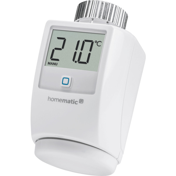 Homematic IP Heizkörperthermostat HMIP-eTRV-2 für Smart Home / Hausautomation