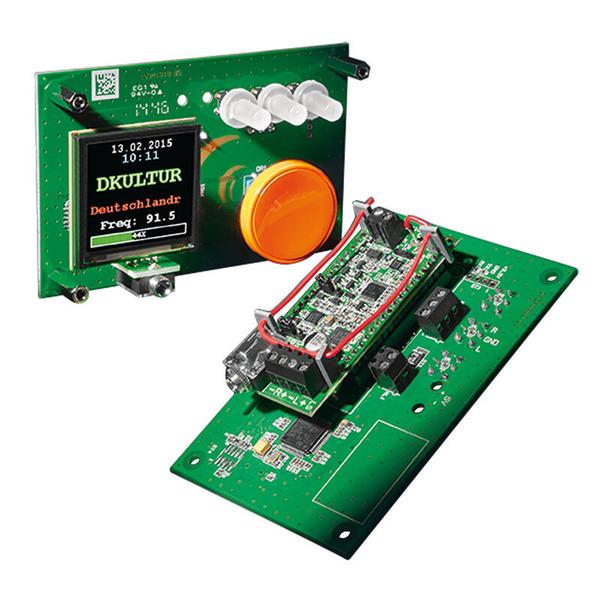 ELV Bedien- und Anzeigeeinheit FM-RM1BE, für FM-Receiver Modul FM-RM1, Komplettbausatz