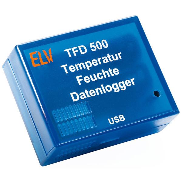 ELV Komplettbausatz Temperatur-Feuchte-Datenlogger TFD 500