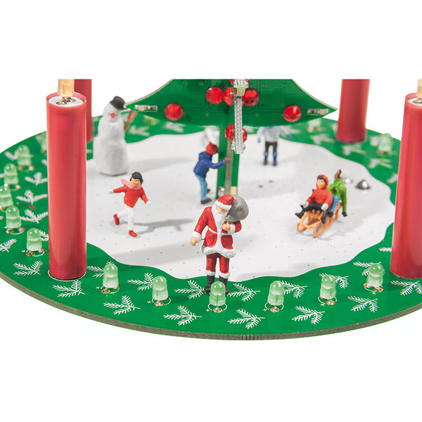 ELV Komplettbausatz Weihnachtsschaltung LED-Adventskranz LED-ADK1
