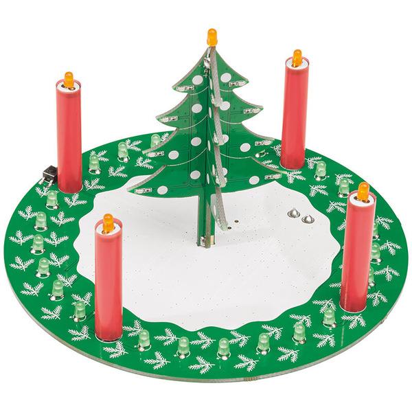 ELV Weihnachtsschaltung LED-Adventskranz LED-ADK1, Komplettbausatz
