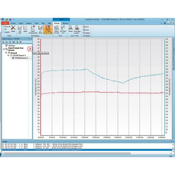ELV Komplettbausatz 2-Kanal-Temperatur Datenlogger TDO200