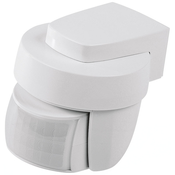 ELV Homematic IP Bewegungsmelder HmIP-SMO mit Dämmerungssor - außen, weiß, ARR-Bausatz