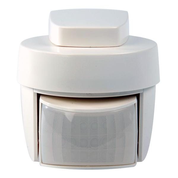 Homematic IP Bewegungsmelder HmIP-SMO mit Dämmerungssensor – außen, weiß, für Smart Home