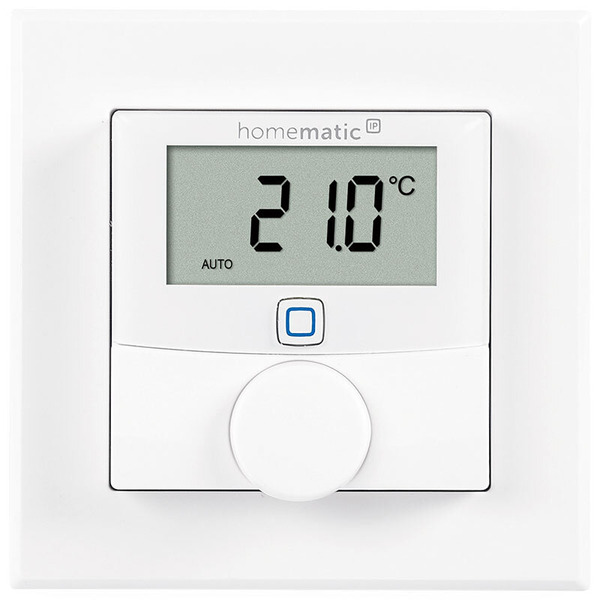 ELV Homematic IP Komplettbausatz Wandthermostat HmIP-WTH-2, für Smart Home / Hausautomation